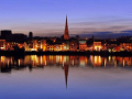 Wexford Town at dusk