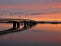 Wexford Bridge at sunset