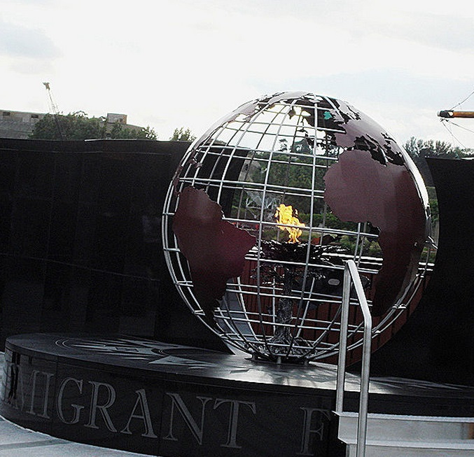 Emigrant Flame, New Ross