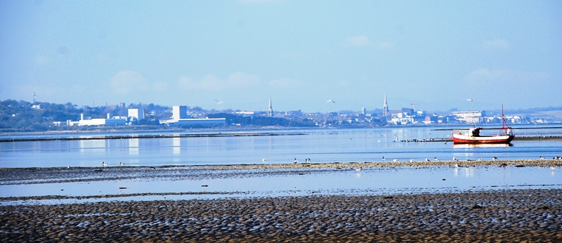 Wexford - as seen from from Rosslare