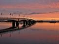 Wexford Bridge at sunset